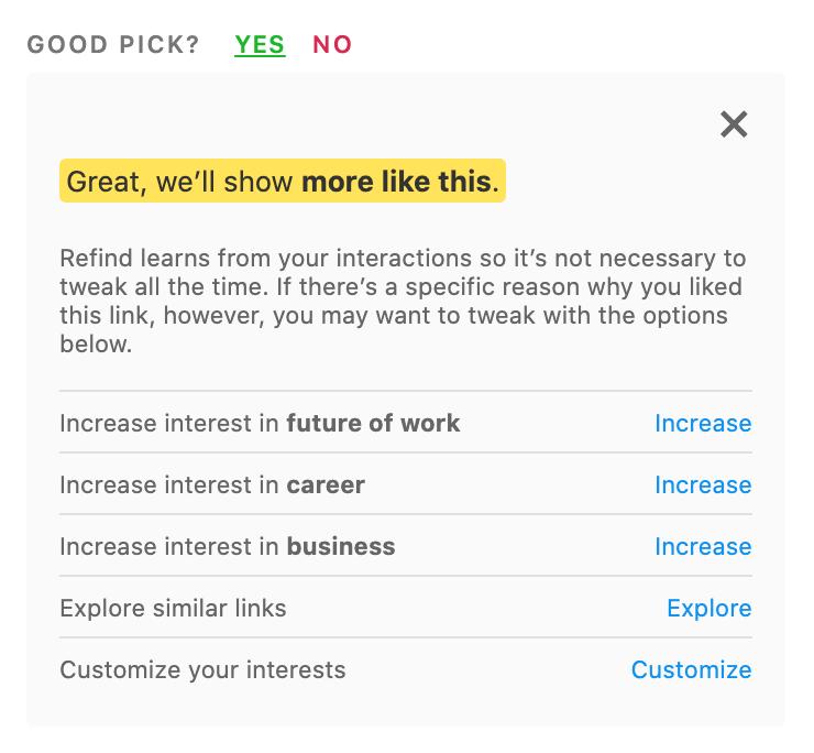 Good pick yes